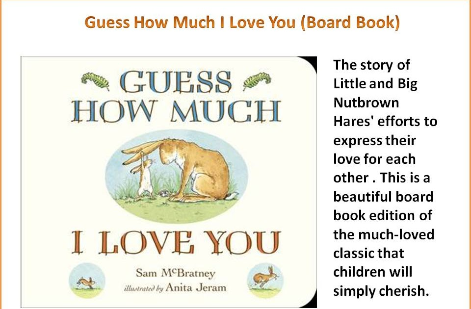 World of Wonders: Guess How Much I Love You (Board Book)