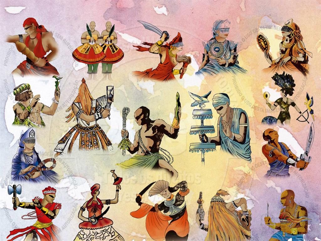 Blog do Arretadinho: Religião Afro-Brasileira: Candomblé.