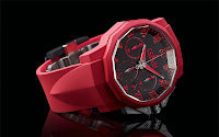 Corum Admiral's Cup Challenger 44 Chrono Rubber 2011 red