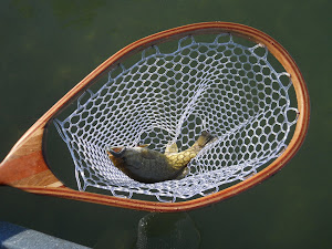 Custom wood landing nets made in the USA!