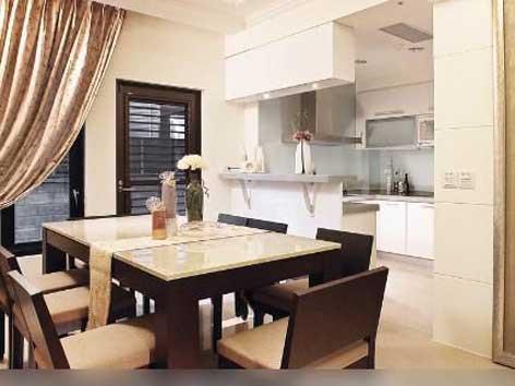 ruang makan minimalis modern