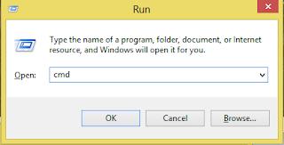 cara memunculkan menu run di komputer