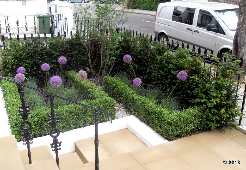 Luis moreno garden designer in fulham project overview 2 for Garden design ideas with hedges