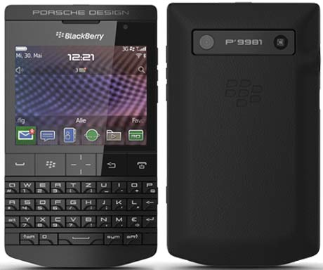 Harga dan Spesifikasi BlackBerry Porsche Hitam