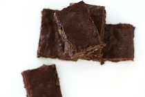 Le brownie fort en chocolat
