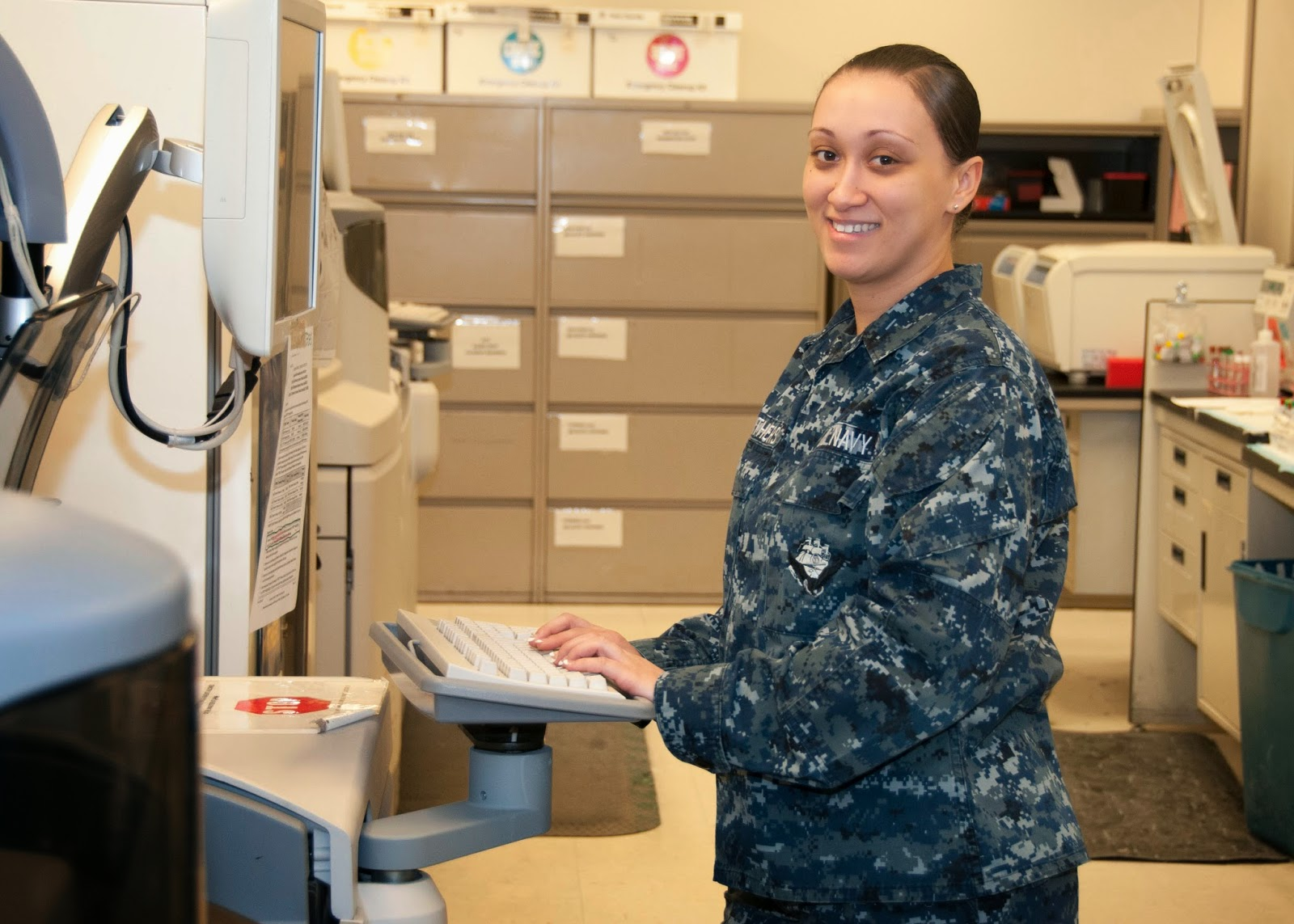 navy microbiologist