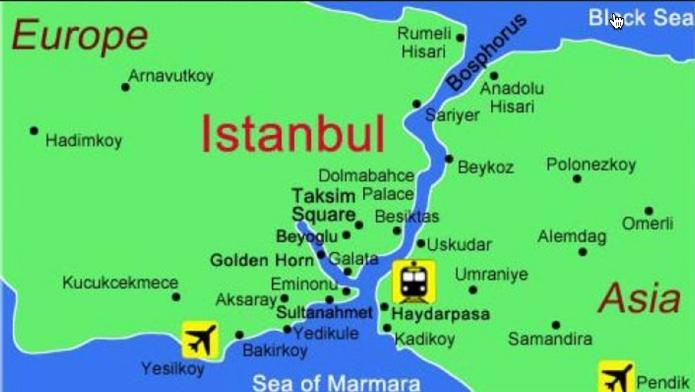 Summer 2015 Turkey Greece Tour Day 3 Beaches of Poyrazky Turkey