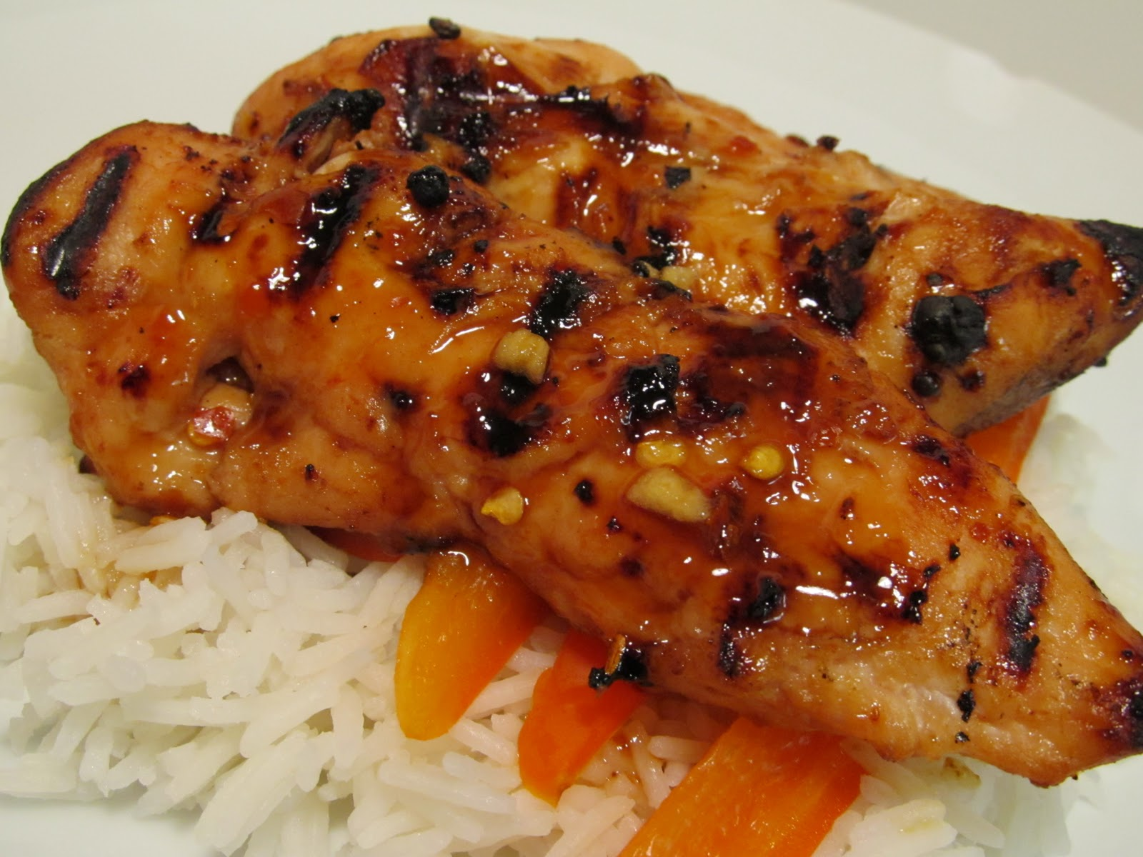 Jenn's Food Journey: Grilled Bourbon Chicken