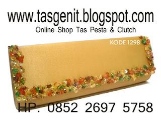 tas pesta cantik, clutch bag online shop