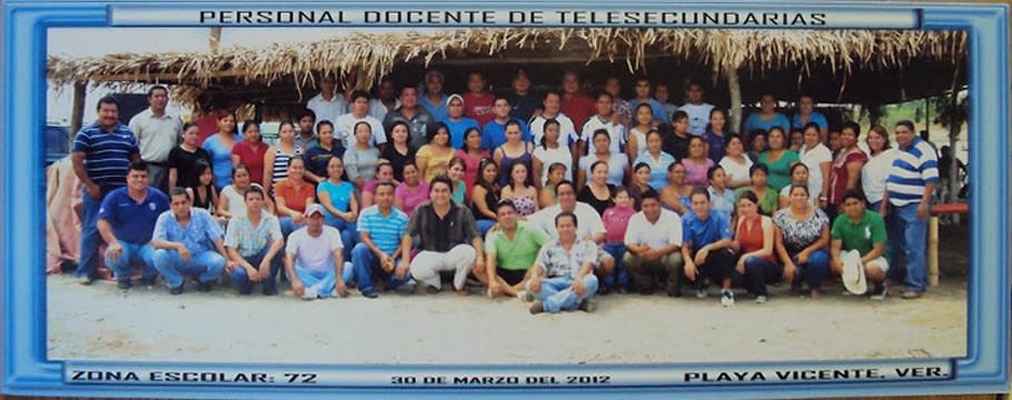 ZONA 72 DE TELESECUNDARIAS