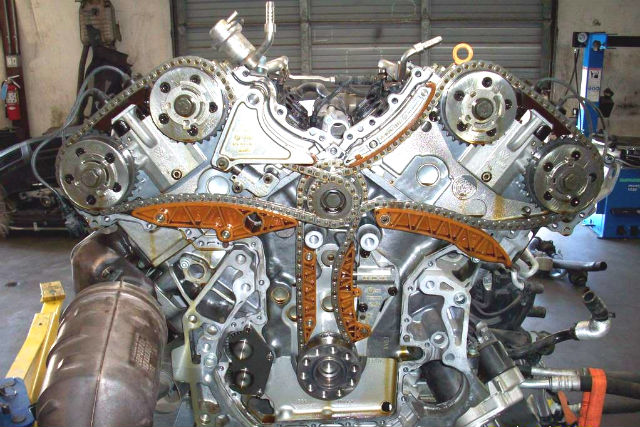 Timingchain W Sm on Vw W8 Engine Timing Chain