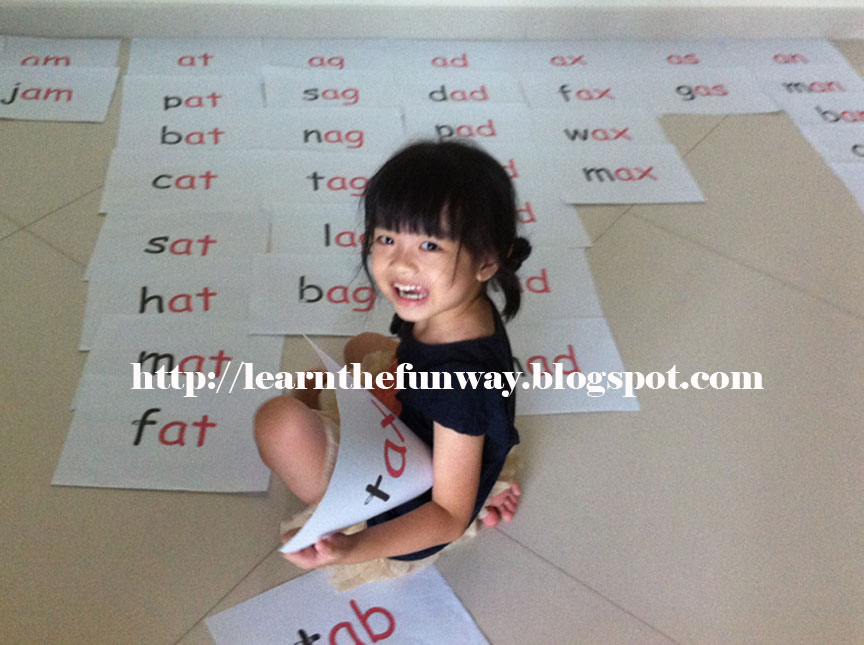 Teaching Phonics Make A 3 Letters Word A Vowel Learn The Fun Way