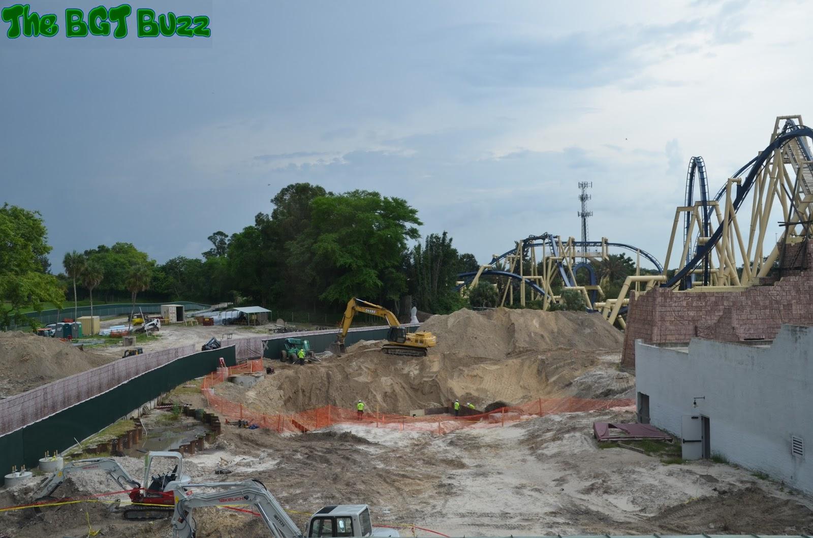 The Bgt Buzz Busch Gardens Tampa Project 2016 Construction