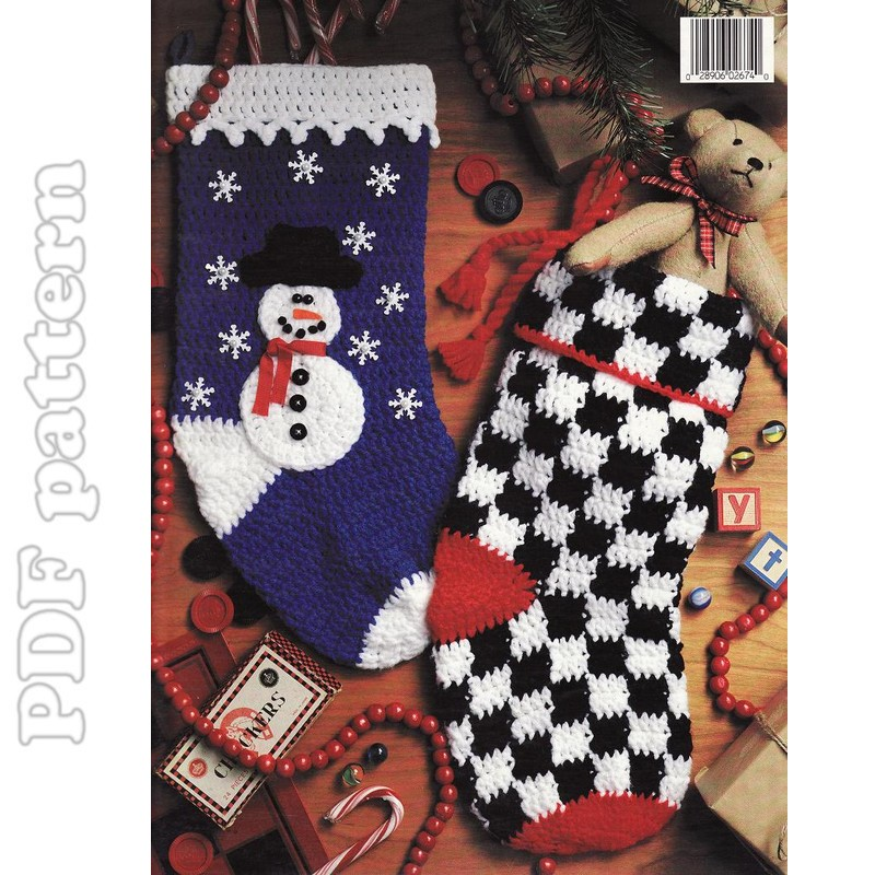 Little Stocking Ornaments - Christmas Crafts, Free Knitting