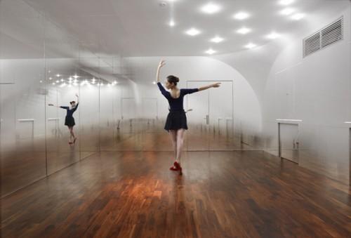 modern dance studio
