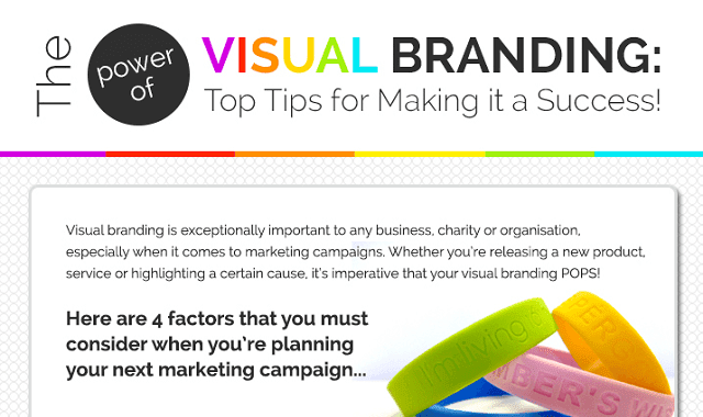 The Power of Visual Branding: Top Tips for Making it a Success