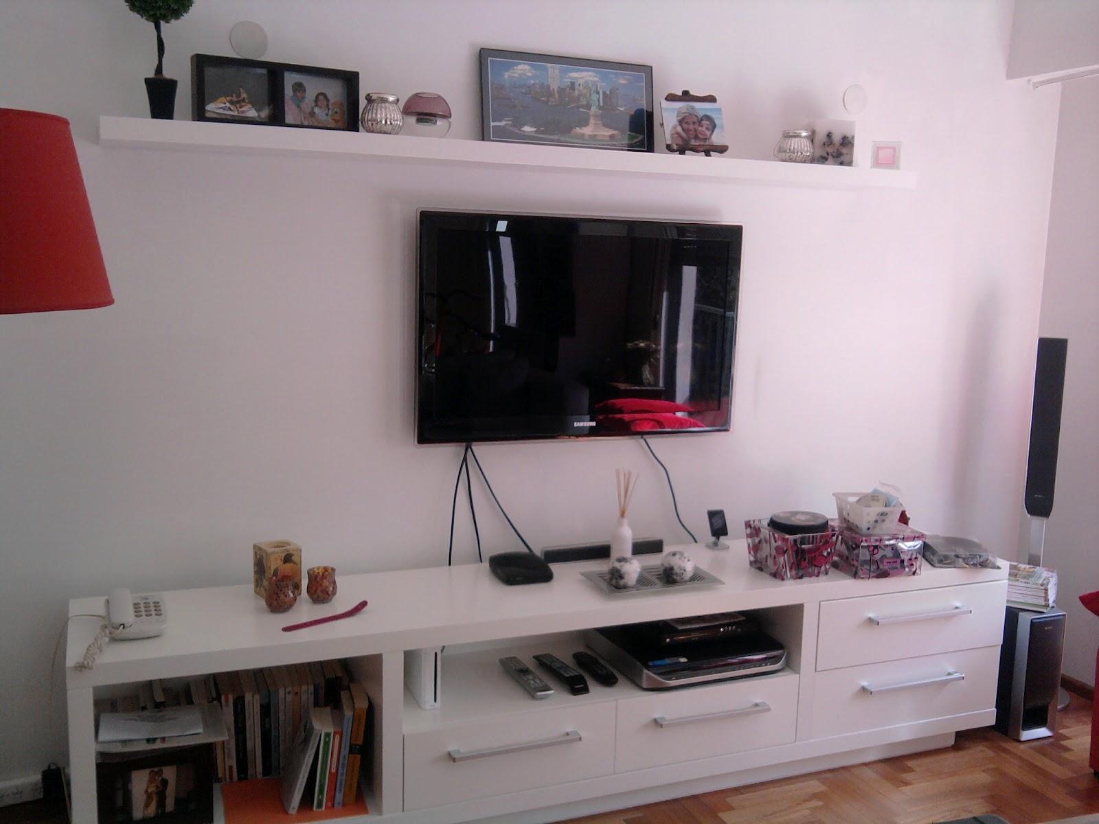CH, MOBILIARIO PARA OFICINAS Muebles living laqueados blanco