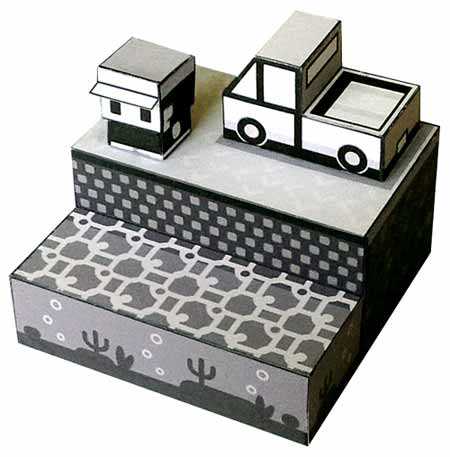 The Mew Truck Papercraft