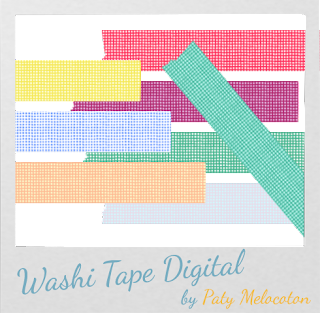 Washi Tape Digital Cuadros