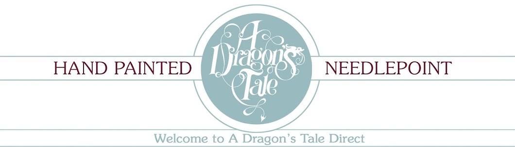 A Dragon's Tale  Needlepoint