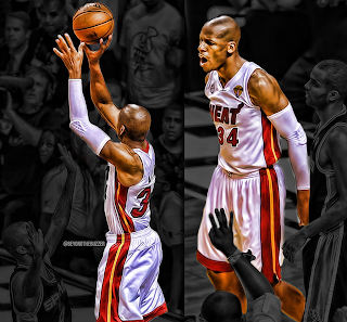 Ray Allen Heat Finals, Ray Allen Heat Finals Game 6 three pointer
