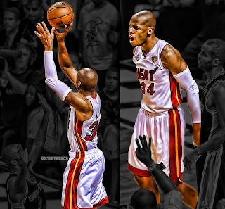 Ray Allen Heat Finals, Ray Allen Heat Finals Game 6 three pointer