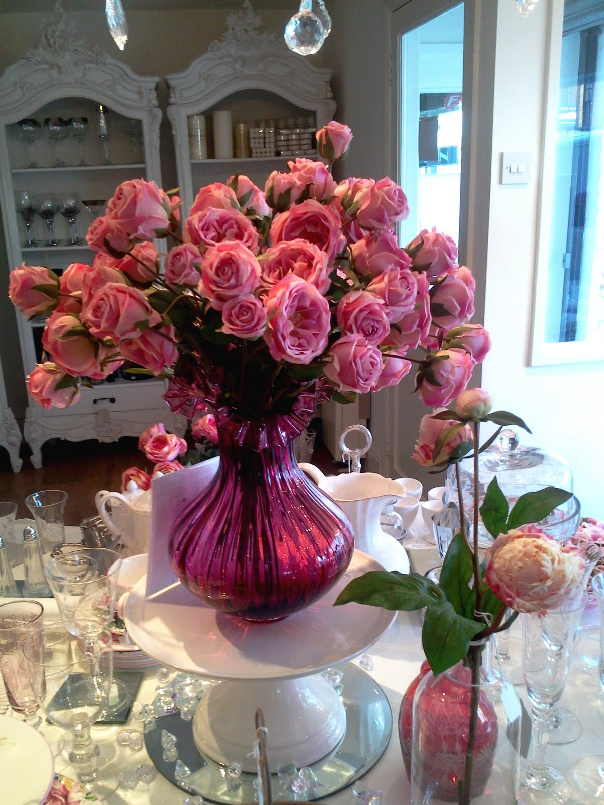 Strawberry house interiors gorgeous silk flowers now in stock and not only do they last a lot longer than fresh flowers they look just as beautiful and are a great alternative for hay fever sufferers mightylinksfo