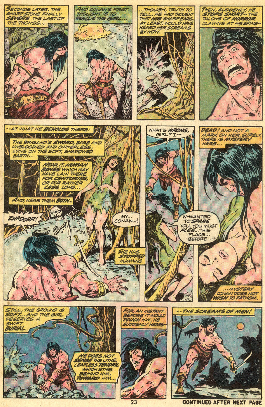 Conan the Barbarian (1970) Issue #41 #53 - English 14