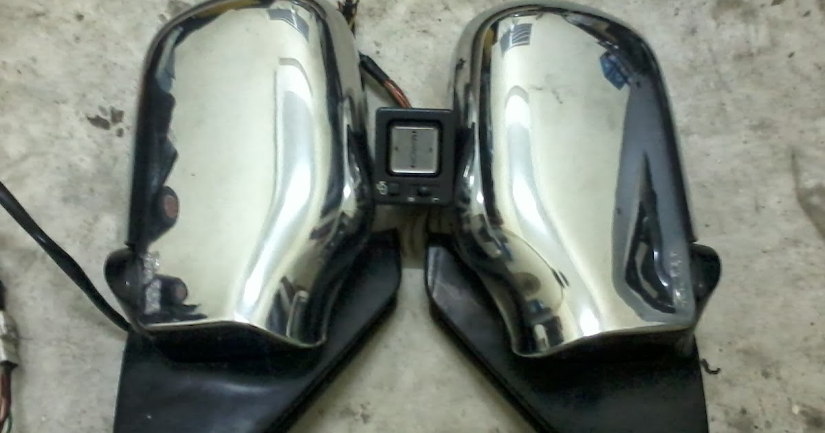 Life With Machine  Diy  Perodua Kancil Auto Flip Side Mirror  Wiring