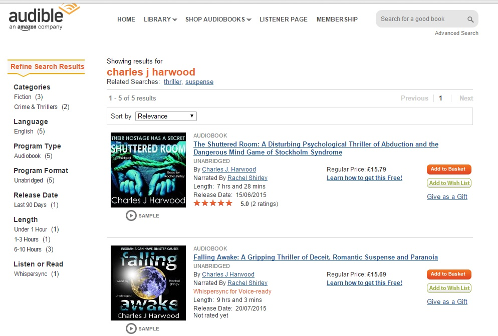 There are a handful of classics that you can get for free on Audible (professional, high-quality, $or-more recordings) if you first buy the Kindle version, including the free copy. Seeing as how I love audio books and prefer the high-quality recordings of Audible (all digital, no scratched library CDs, with good sound quality), I thought I'd share the links to the deals that I had to scrounge for.