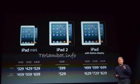 Daftar Harga iPad 2013