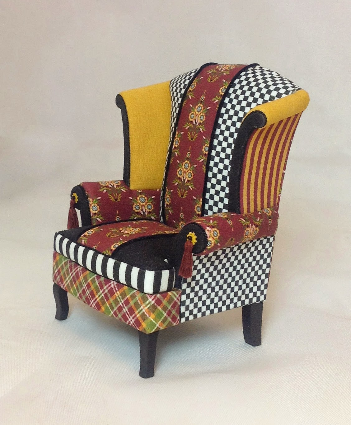 Upholstered wing chairs - Saturday May 10 2014