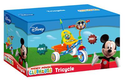 JUGUETES - Disney MICKEY MOUSE - Triciclo  Producto Oficial | Stamp | Comprar en Amazon