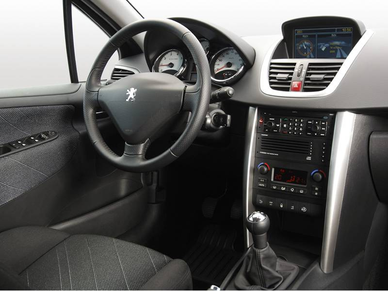 Asemik peugeot 207 sedan for Interieur 407