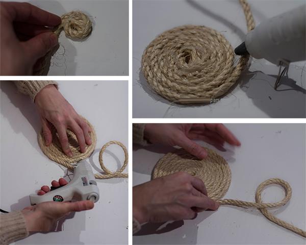 DIY, Individuales de Cuerda de Cañamo