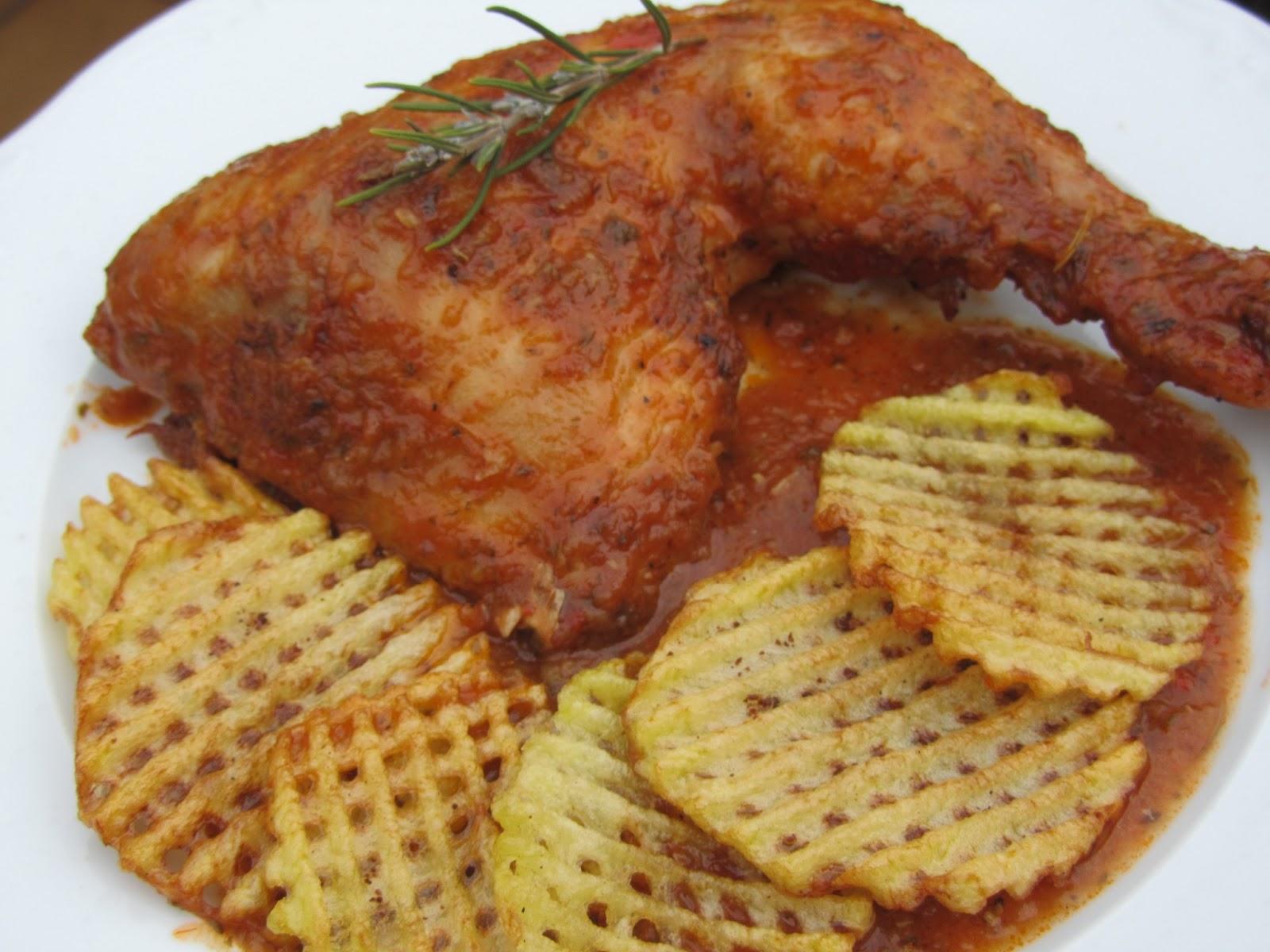Pollo asado a la barbacoa thermomix - Salsa para pollos asados ...