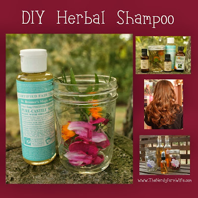 DIY Herbal Shampoo