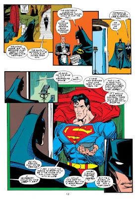 Batman y anillo de Kryptonita