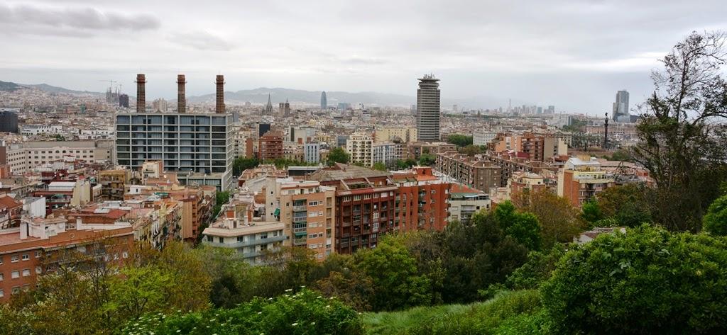 Montjuic Barcelona City View