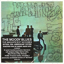 NEW RELEASE …The Moody Blues 50th Anniversary re-mastered release -'The Magnificent Moodies'