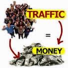 pengunjung blog jadi uang