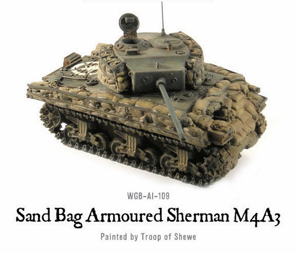 SHERMAN M4A3 with SANDBAG ARMOR