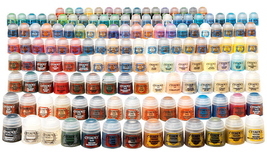 Miniature Paints Best Yellow For Mixing