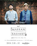 2.10 sat Momentom presents GROOVE MOMENT feat. MASSAN × BASHIRY