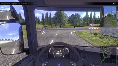 screenshot Game Scania Truck Driving Simulator v1.5.0 Terbaru
