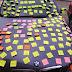 Bild des Tages - Anonyme Verehrerin beklebt das ganze Auto von Vardar Fußballer