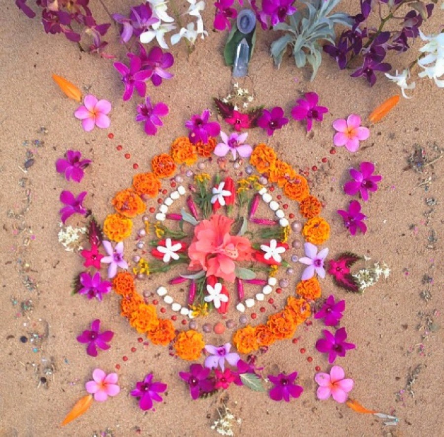 floral-mandala-on-the-beach
