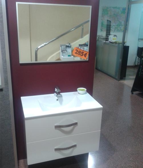 Mueble de baño DEVA suspendido con 2 cajones