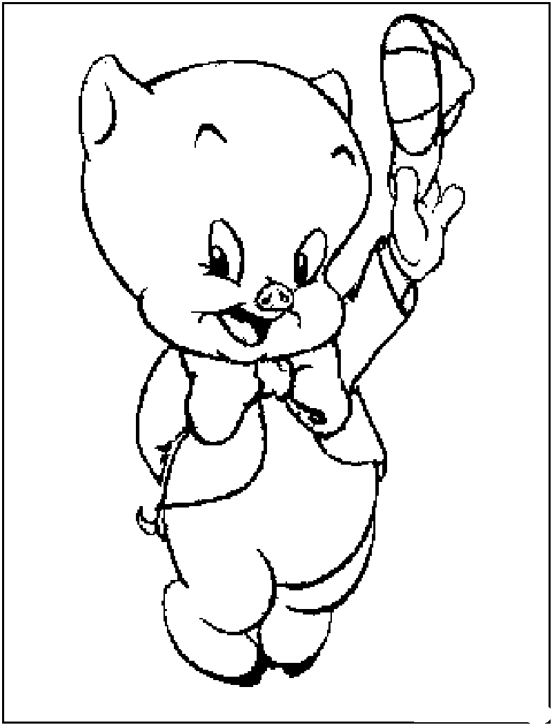 loony toons coloring pages - photo#28