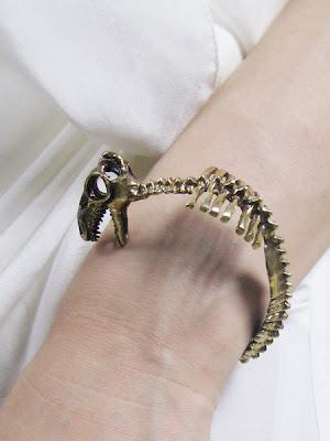 t-rex bracelet /></a></div> via <a href=